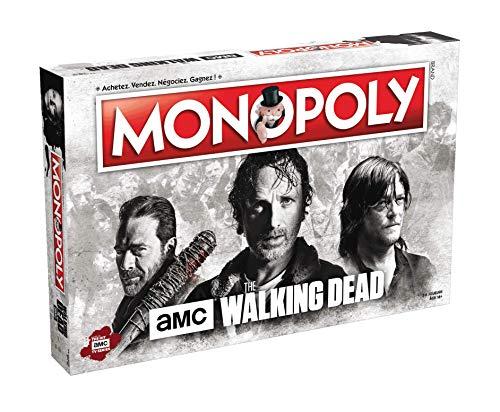 Winning Moves MONOPOLY THE WALKING DEAD AMC-Version Français