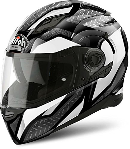 Airoh Helm Movement S Steel White Gloss L