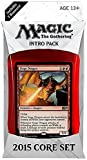 Magic the Gathering (MTG) 2015 Core Set / M15 Intro Pack / Theme Deck - Siege Dragon (Red/Blue)(Includes 2 Booster Packs)