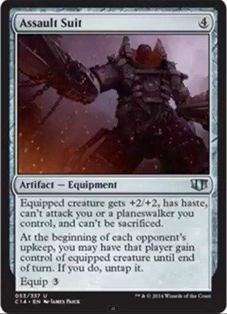 Magic The Gathering - Assault Suit (053/337) - Commander 2014