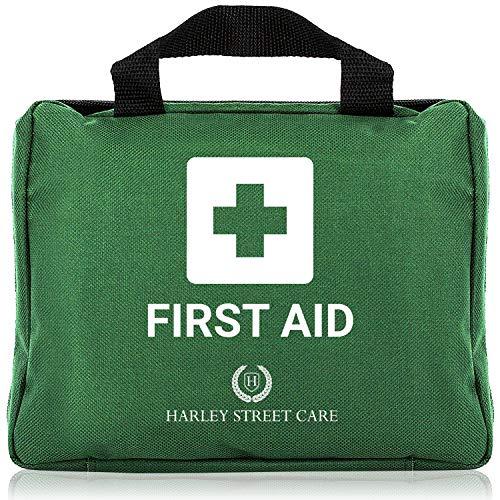 Harley Street Care Kit Profesional de Primeros Auxilios/Kit de Emergencia de 103 Piezas....
