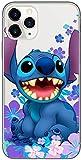 Original & Offiziell Lizenziertes Disney Lilo & Stitch Handyhülle für iPhone 11 PRO MAX, Hülle, Hülle, Cover aus Kunststoff TPU-Silikon, schützt vor Stößen & Kratzern