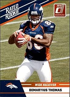 2010 Donruss Rated Rookies #27 Demaryius Thomas - Football Card