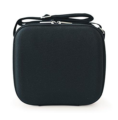 IRIS Cubic Bolsa térmica, Porta Alimentos, Tela, Negro, 26x14x23 cm