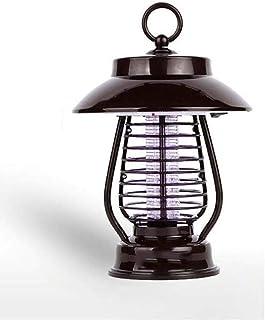 ZKKZ Lámpara de Mosquito Solar para Interiores, Impermeable, muda, Insecto, Asesino, sin radiación, al Aire Libre, Zapper