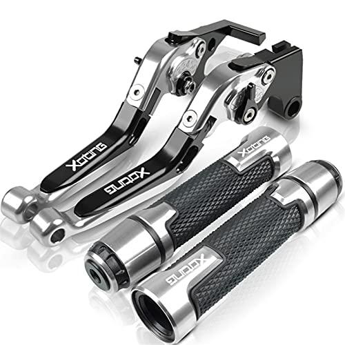 Puño de Manillar Para KY&MCO para XCITING 250300400500 todos los años palanca de embrague de freno de motocicleta y extremos de agarre de manillar palancas de mango de scooter de motocicleta Accesorio