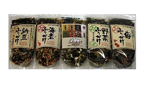 【通宝】 納豆 / 海老/うめ /野菜/まごわやさしい ふりかけ各2袋(合計10袋)