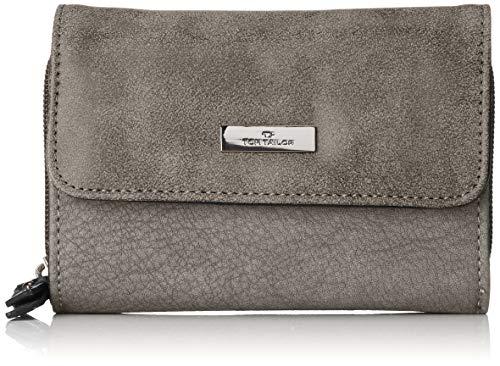 TOM TAILOR bags ELIN Damen Geldbörse one size, grey, 14x4x10
