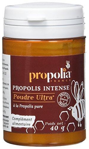 Propolia - Poudre de Propolis pure Ultra - Complément alimentaire - 40 g