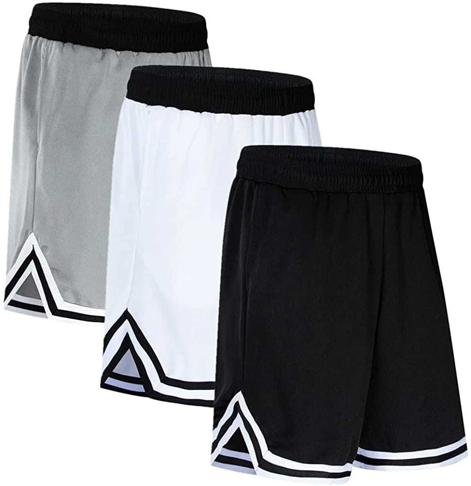 OPALOS 3 Pack Discount Portland Mall mail order Active Athletic Shorts for Basketball Men