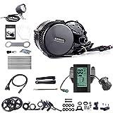 BAFANG - Kit de conversión de bicicleta eléctrica para bicicleta de montaña, motor de sensor de par central, BBS02B, 48 V, 750 W, para bicicleta de carretera, kit de cambio de bicicleta