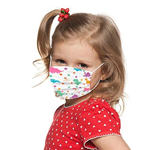 Humeng Industrielle 3-lagige Ohrschlaufe 10PC für Kinder zum Einmalgebrauch Made in Germany