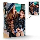 Fotoprix Lienzo Personalizado con Foto | Regalo decoración casa | Cuadro personalizado con foto y lienzo de fotos en varios tamaños disponibles (30 x 40 cms)