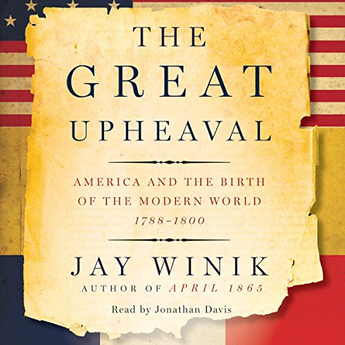 The Great Upheaval audiobook cover art