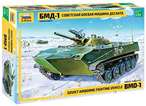ズベズダ 1/35 ソビエト軍 BMD-1 ソビエト空挺戦闘車 プラモデル ZV3559