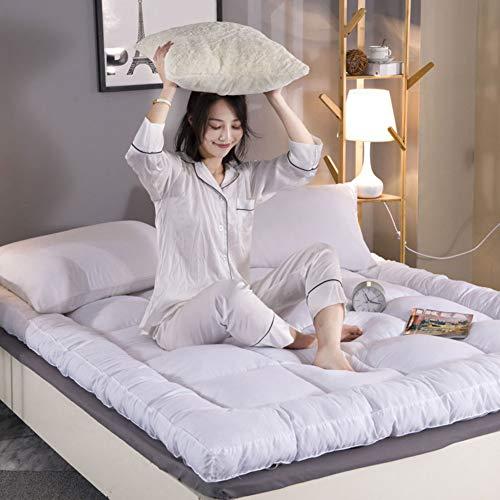 LXSHMF Tatami Dormir Colchón De Futón,Grueso Respirable Tatami Colchón Suave Plegables Futón Colchón Portátil No-resbalón Esteras para Salón Dormitorio