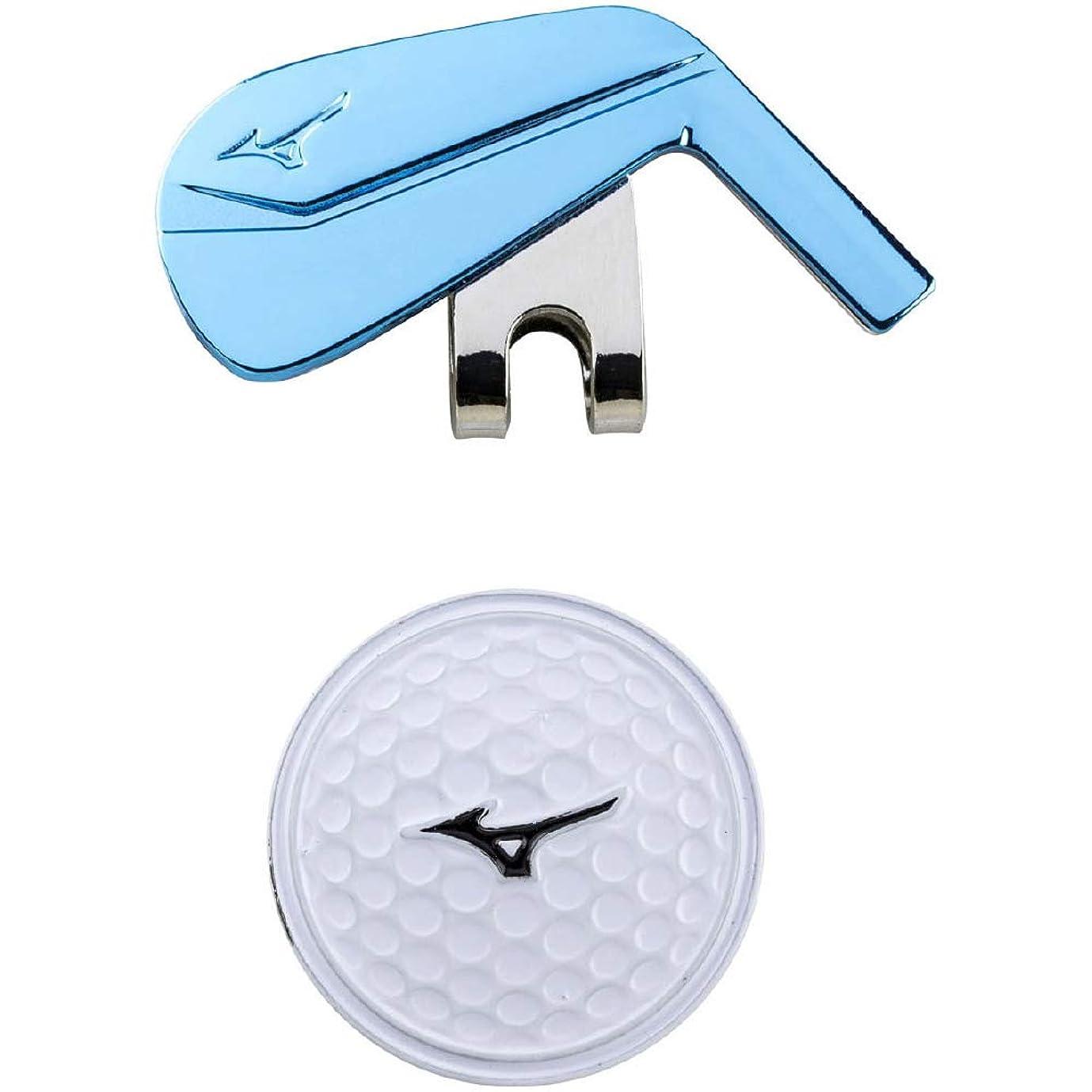 主張する障害者蓮MIZUNO(ミズノ) グリーンマーカー マルチスポーツ ゴルフタイプ ユニセックス 5LJD192100 ブルー