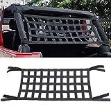 Pandaorv Rear Top Cargo Net for J-eep Wrangler, Car Roof Hammock Car Bed Rest for J-eep Wrangler Accessories JK JKU JL JLU 2007-2021