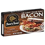 Boar s Head Fully Cooked Bacon 2.29 OZ(Pack of 4) by Boar s Head