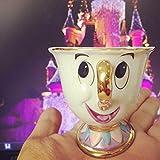 Taza de té con diseño de la bella y la bestia de Mrs Potts con chip