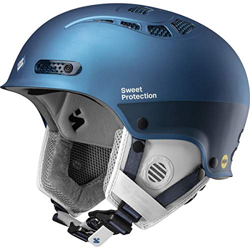 Sweet Protection Igniter II MIPS Casque de Ski et Snowboard pour Femme Bleu Sarcelle métallisé SM