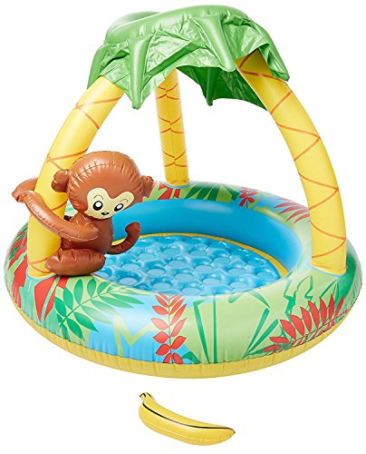 Small World Toys Active Edge – Piscine à Bord Actif Singe Bbay