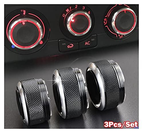 FENGFENG Sun Can Ajuste para VW Polo 2003-2013 Interruptor Perilla Perillas Calentador...