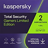 Kaspersky Total Security 2021   Gamer   2 Dispositivos   1 Año   PC / Mac / Android   Código de activación vía correo electrónico