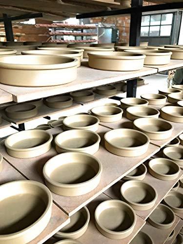 スペイン製耐熱陶器 CAZUELA カスエラ 15cm カラー:緑