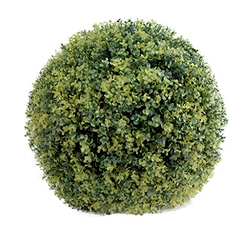 Kunstrasen Kugel Pflanzen Kleines Geld Blatt Erdnuss Gras Kugel Rot Lila Schaufenster Dekoration Hotel Ornamente Künstliche Pflanze Ball, 45cm
