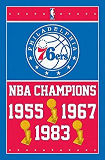 Trends International Philadelphia 76ers Champions Wall Poster 22.375