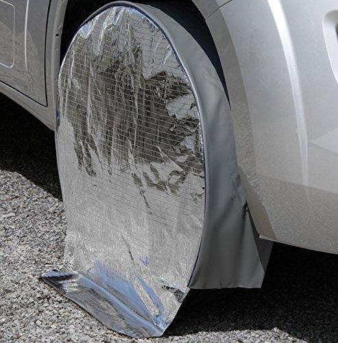 """Hindermann Radschutzhülle mit Sonnenreflektion Reisemobile mit Reifengröße 17"""""""