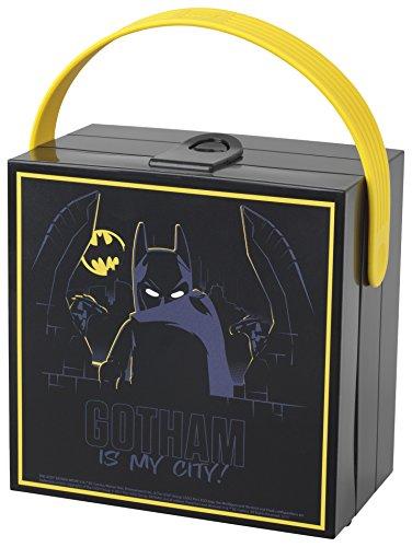 LEGO Batman Movie Lunchbox with Handle, Black