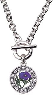 Best violet flower jewelry Reviews