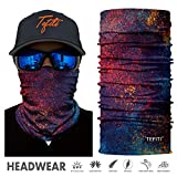 TEFITI Balaclava Face Mask, Multifunctional Headwear Neck Gaiter for Men, 3D Dust Mask Sun UV Dust...