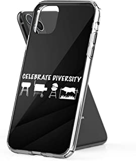 Case Phone Celebrate Diversity BBQ Spit Barbecue (5.8-inch Diagonal Compatible with iPhone 11 Pro)