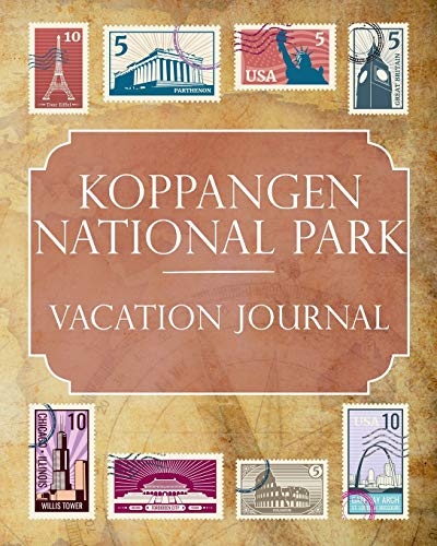 Koppangen National Park Vacation Journal: Blank Lined Koppangen National Park (Sweden) Travel Journal/Notebook/Diary Gift Idea for People Who Love to Travel [Idioma Inglés]