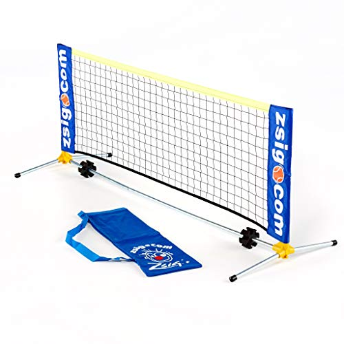 ZSIG Early Years Mini Tennis Net - 1.8m Portable Net, Ideal For Young Children
