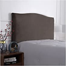 Bed Headboard Cover Elastic Headboard Protection Cover, All-Inclusive Design Solid Color Elastic Protection for Bed Headbo...