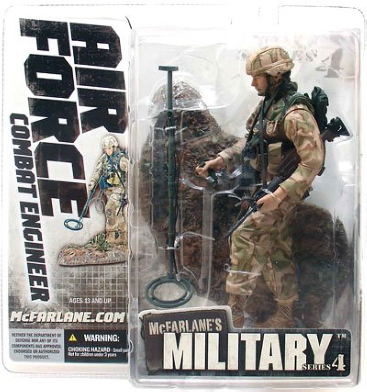 sorteos de estadio Macfarlane Macfarlane Macfarlane Military série 4 Air Force Combat Engineer negro  venta mundialmente famosa en línea
