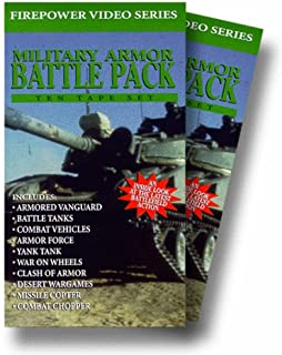 Military Armor Battle Pack: Firepower Video Series 10 Video Set VHS