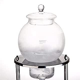 グラス アイスコーヒー ウォータードリッパー メーカー ドリッパー ポット 600ml-1000ml 6-8人 水出し 耐熱ガラス コーヒーサーバー コーヒーフィルター ウォータードリップ エスプレッソ手作り