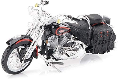 Escala 1:18 carretera locomotora Colección de motos Modelos Juguetes bicicleta de carreras de simulación de vehículos de juguete de modelo Adulto Niño del coche de metal decoración de Halloween de los