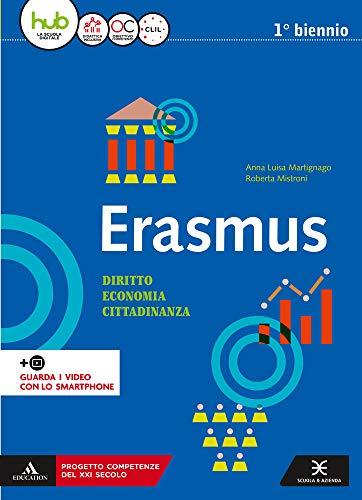 Erasmus. Diritto, economia, cittadinanza. Per gli Ist. tecnici e professionali. Con e-book. Con espansione online