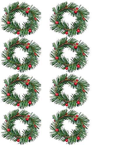 Vela Roja Navidad  marca Homkit