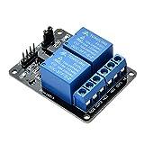 Yizhet 2 canali Relay modulo DC5V con Accoppiatore Ottico per Arduino Raspberry Pi BRACCIO AVR DSP del PIC