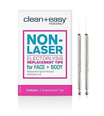 Clean & Easy Electrolysis Replacement Stylets by AII, One Touch