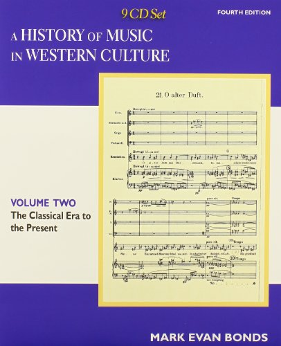 CD Set Volume II for A History of Music in Western Culture