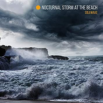 Nocturnal Storm at the Beach