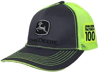 قبعة جون ديري للرجال 100 عام عليها شعار كلاسيكي - فحمي